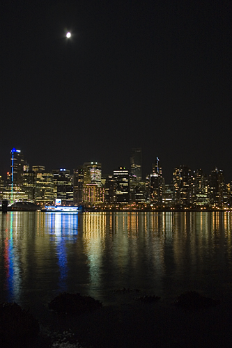 Vancouver skyline from Stanley Park.